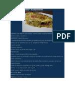Tortilla de Puerros y Alcachofitas