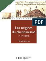 Les origines du christianisme Ier Ve-siècle.pdf