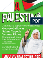 Viva Palestina Supporters Event - Bradford 26 May 2010
