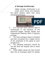 Digital Storage Oscilloscope12