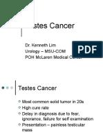 Testes Cancer