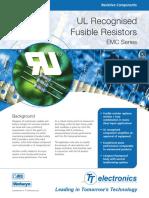 Fusible Resistors EMC Series