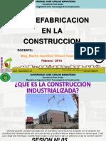 05 Prefabricacion en La Construccion