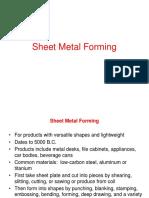 Sheet Metworking 1