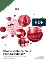 Labcom - Informe Semanal de Agenda Pública - Diciembre 16, Semana 4
