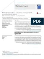 Efectos Del Ejercicio Físico y Pautas Básicas Para Su Prescripción en La Enfermedad de Alzheimer