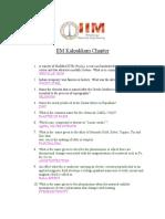 Model Questions of iim