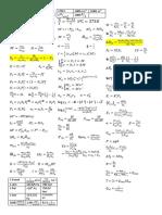Formulario Final Termodinamica