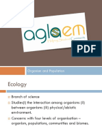 Organisms and Popu b nb n nnnblationc