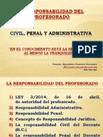 Responsabilidad Docente Civil y Penal