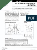 NEC UPC4570C Datasheet