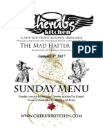01012016 Sunday Menu - Hatter
