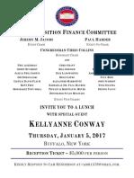 Kellyanne Conway invitation