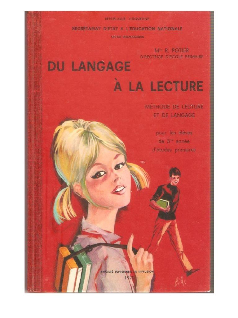 Du Langage A La Lecture 3eme Annee Primaire
