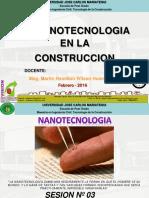 03 Nanomateriales en La Construccion