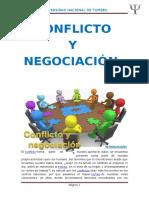 Conflicto y Negociacion