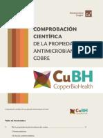Propiedad Antimicrobiana Del Cobre