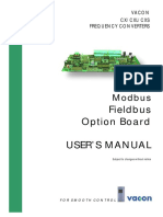 Vacon cx modbus board user manual | error detection and correction.