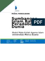 002. Modul 2..Sumbangan Islam Bagi Peradaban Dunia