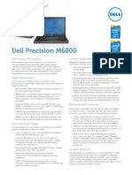 Dell Precision M6800 Spec Sheet