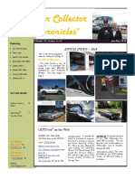 Car Collector Chronicles Annual Index 2016