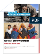 Women Empowerment Through Media Lens