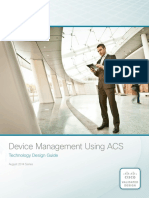 Device Management Using ACS Design