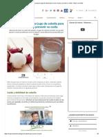 Cómo Usar y Preparar Jugo de Cebolla Para Crecer El Pelo y Prevenir Su Caída - Mejor Con Salud