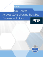Access Control Using TrustSec