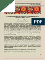 Francesca Di Meglio - La Palabra Guaraní Desd El Mito de Los Orígenes Hasta La Narrativa de Roa Bastos