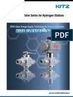 Perrin High Pressure Valves for Hydrogen Service