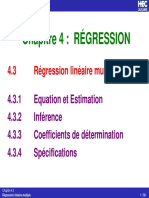 l'Econométrie - la règression.pdf