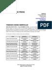 Itinerario Series Semifinales