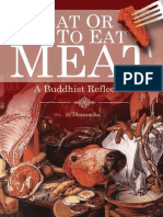 To Eat or Not to Eat Meat