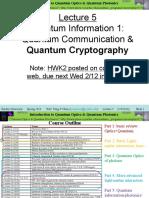 Quantum Computing Lecture