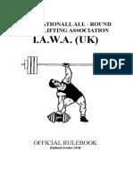 IAWA Rules Dec2014