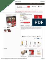 Trousse de 10 pinceaux assortis Simply soiesDaler Rowneychez Rougier & Plé