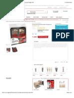 Trousse de 10 pinceaux assortis Simply soiesDaler Rowneychez Rougier & Plé b