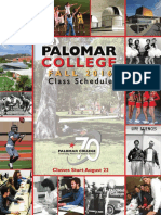 Palomar College 2016-Fall-complete Schedulle
