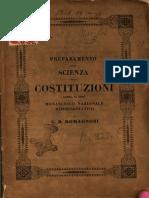 Preparamento Alla Scienza Delle Costituzioni Sopra Il Tipo Monarchico