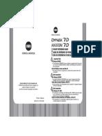 Minolta Dynax 7d manual