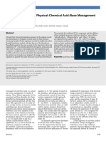 Practical Approach to Physical-Chemical Acid-Base Management