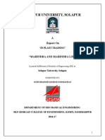 Apparao Training Report