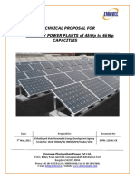 0141 - 4kWp to 6kWp Solar Photovoltaic Power Plants - CREDA