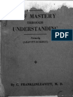 Leavitt Self Mastery Through Understanding