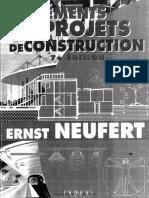 Les Elements Des Projets de Construction Part 01