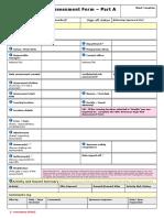 Netherhall Risk Assessment Form 4