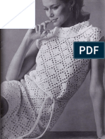Crochet Openwork Dress Pattern - VINTAGE