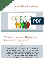 3. Consumer Decision Processes