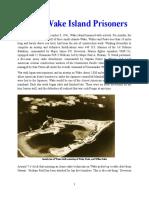 Ml Hist - WWII Wake Island Prisoners